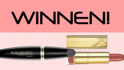 Win: Max Factor Lipstick & Mascara!